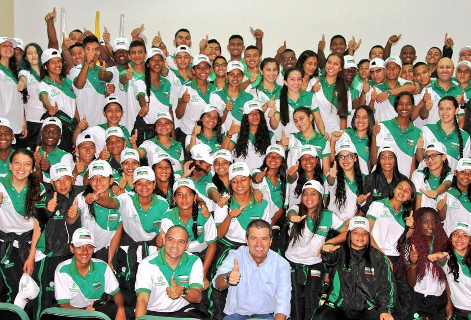 Antioquia Superate Intercolegiados regional Indeportes